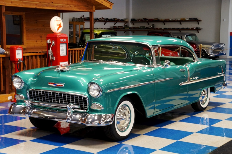 Chevy 1955 Neptune Green Bing Images
