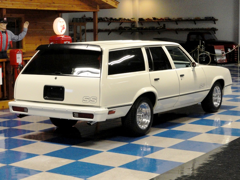 1979 CHEVROLET MALIBU FACTORY FOUR SPEED WAGON POLAR