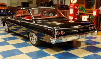 1962 CHEVROLET BEL AIR BUBBLE TOP 409 – TUXEDO BLACK full