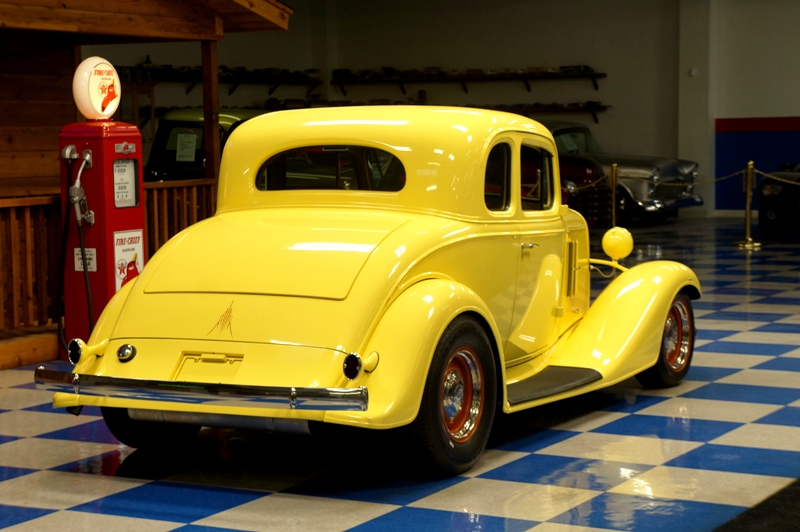 1933 chevrolet 5 window coupe sunfire yellow a e for 1933 chevrolet 5 window coupe