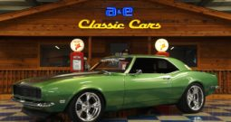 1968 Chevrolet Camaro RS Pro-Touring – Green / Silver