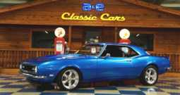 1968 Chevrolet Camaro 383 – Blue / Ghost Flames