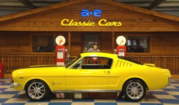 1965 FORD MUSTANG 2+2 FASTBACK K CODE – YELLOW / BLACK full
