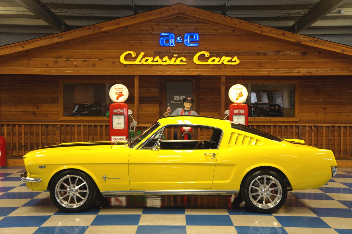 1965 Ford Mustang 2 Fastback K Code Yellow Black Ae Classic 1964 Rear End Codes Full