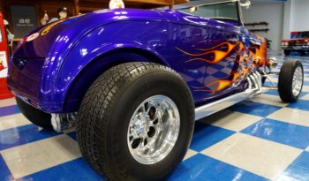 1932 FORD 2 DR CONVERTIBLE STEEL BODY – VIOLETTE PEARL full