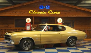 1970 CHEVROLET CHEVELLE SS396 – CHAMPAGNE GOLD / BLACK