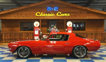 1972 CHEVROLET CAMARO PRO-TOURING – VICTORY RED / BLACK / WHITE