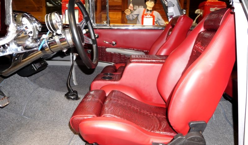 1957 CHEVROLET NOMAD – BURGUNDY / MAROON – A&E Classic Cars