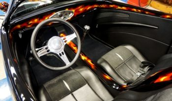 1933 FORD CUSTOM ROADSTER – BLACK W/ FLAMES full