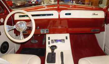 "1951 Lincoln Fuel Injected ""Lead Sled"" – Burgundy full"