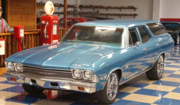 1968 CHEVROLET CUSTOM NOMAD – GROTTO BLUE full