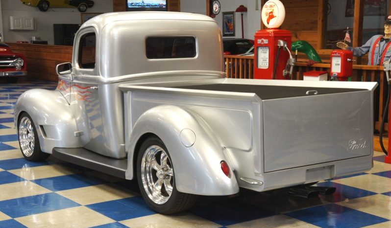 1941 FORD PICKUP – SILVER / FLAMES full