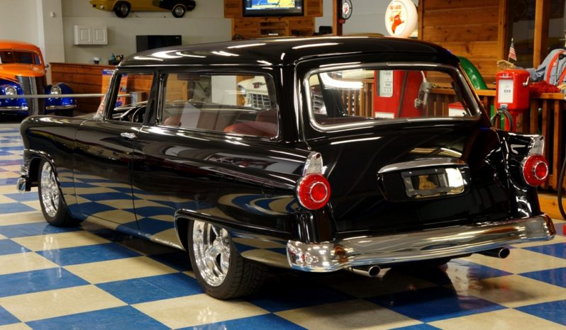 1956 FORD RANCH WAGON RESTO MOD – BLACK PPG full