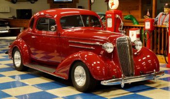 1936 CHEVROLET COUPE – MAROON full
