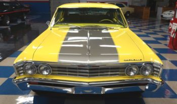 1967 CHEVROLET CHEVELLE 300 – BRIGHT YELLOW / SILVER full