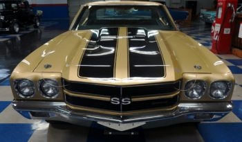 1970 CHEVROLET CHEVELLE SS396 – CHAMPAGNE GOLD / BLACK full