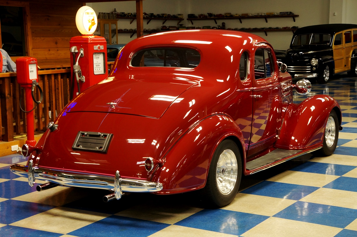 1936 Chevrolet Coupe Maroon A Amp E Classic Cars