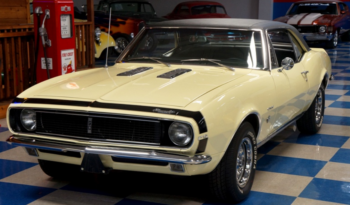 1967 CHEVROLET CAMARO RS – BUTTERNUT YELLOW / BLACK full