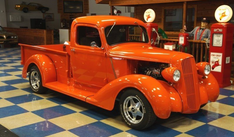 1937 DODGE PICKUP TUNED PORT INJECTED – ORANGE full
