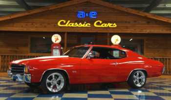 1972 Chevrolet Chevelle LS1 – Red / White