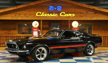 1969 Ford Mustang Mach 1 – Black / Red
