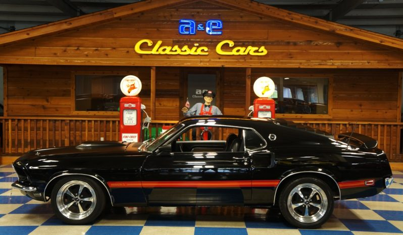 1969 Ford Mustang Mach 1 – Black / Red full
