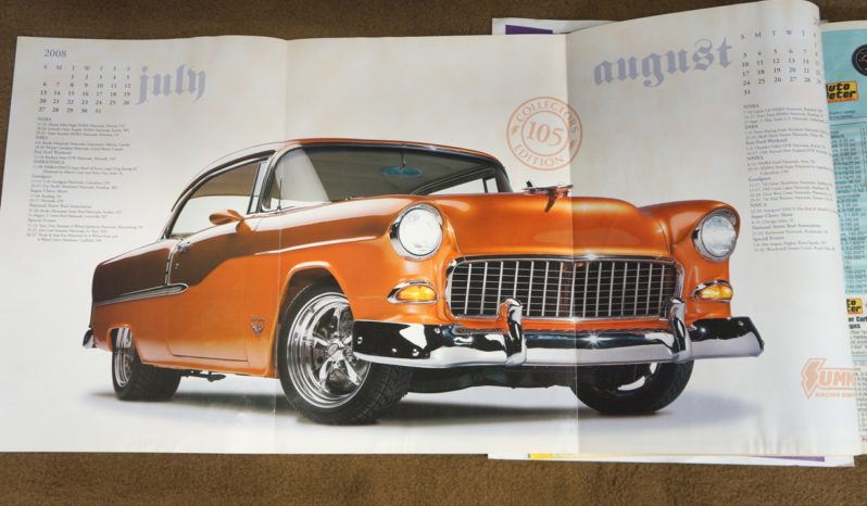 1955 Chevrolet Bel Air F.I. – PPG Copper / Tangerine Pearl full