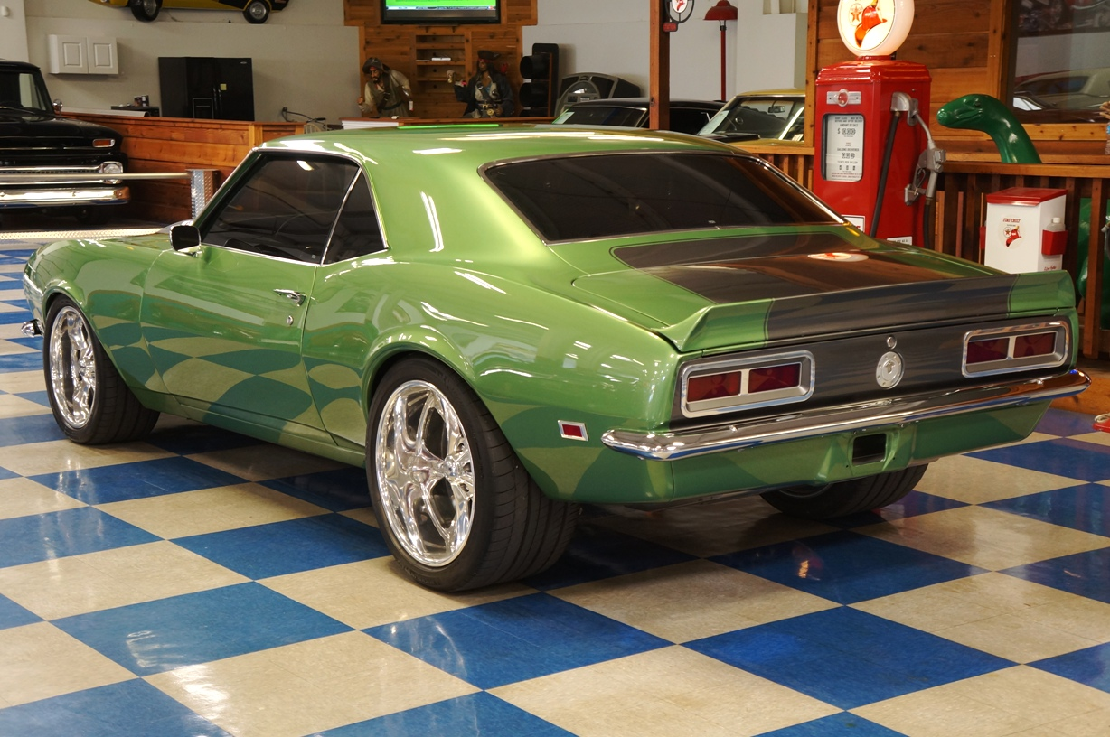 Ford Repair Shop >> 1968 Chevrolet Camaro RS Pro-Touring – Green / Silver – A&E Classic Cars