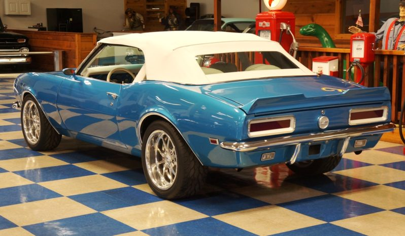 1968 Chevrolet Camaro Convertible LS2 – Blue / White full