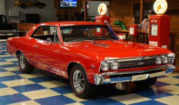 "1967 Chevrolet Chevelle SS ""Tribute"" – Red full"