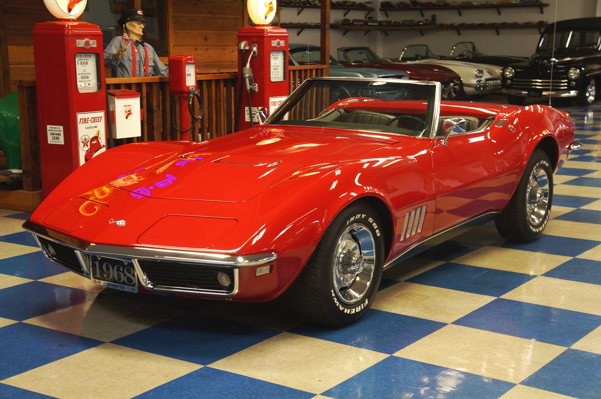 1968 Chevrolet Corvette 427 Red Black Ae Classic Cars 1978 Camaro Full