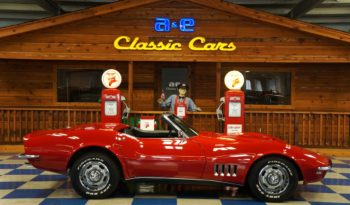 1968 Chevrolet Corvette 427 – Red / Black full