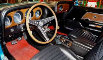 1969 Ford Mustang Shelby GT500 – Gulfstream Aqua full