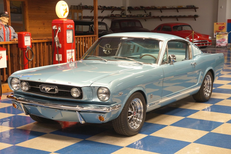 ford mustang gt fastback light blue ae classic cars