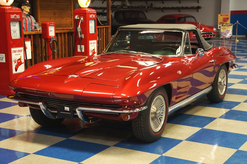1964 Chevrolet Corvette Convertible Deep Cherry Red A E Classic Cars