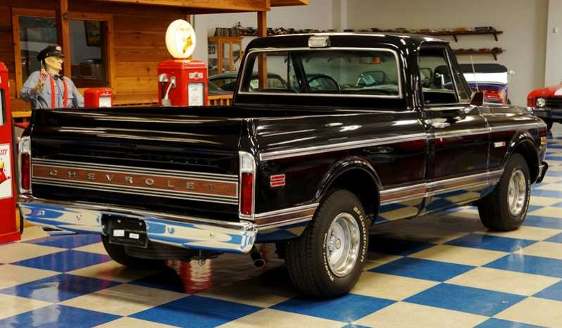 1972 Chevrolet C10 Pickup – Black full