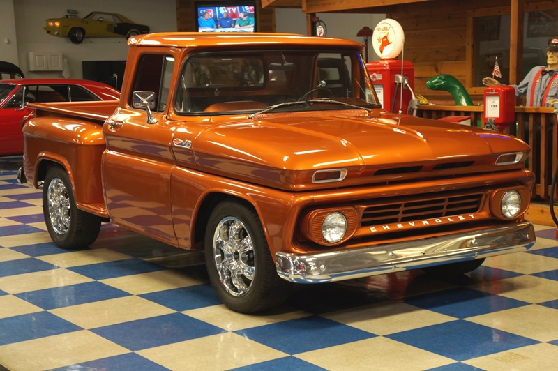 1962 Chevrolet C10 Stepside Pickup Burnt Orange A Amp E