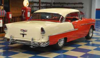 1955 Chevrolet Bel Air – Gypsy Red / Shoreline Beige full