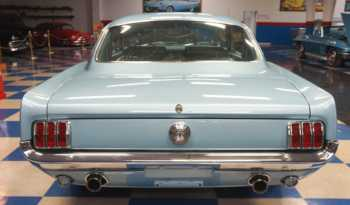 1966 Ford Mustang GT Fastback – Light Blue full