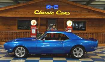1968 Chevrolet Camaro 383 – Blue / Ghost Flames full