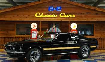 1969 Ford Mustang Mach 1 – Black