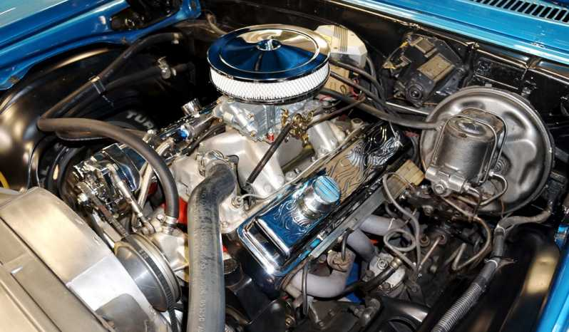 1969 Chevrolet Nova – LeMans Blue full