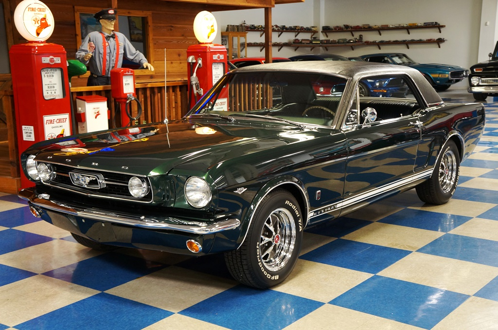 Wonderful 1966 Ford Mustang GT Coupe U2013 Ivy Green / Black Full