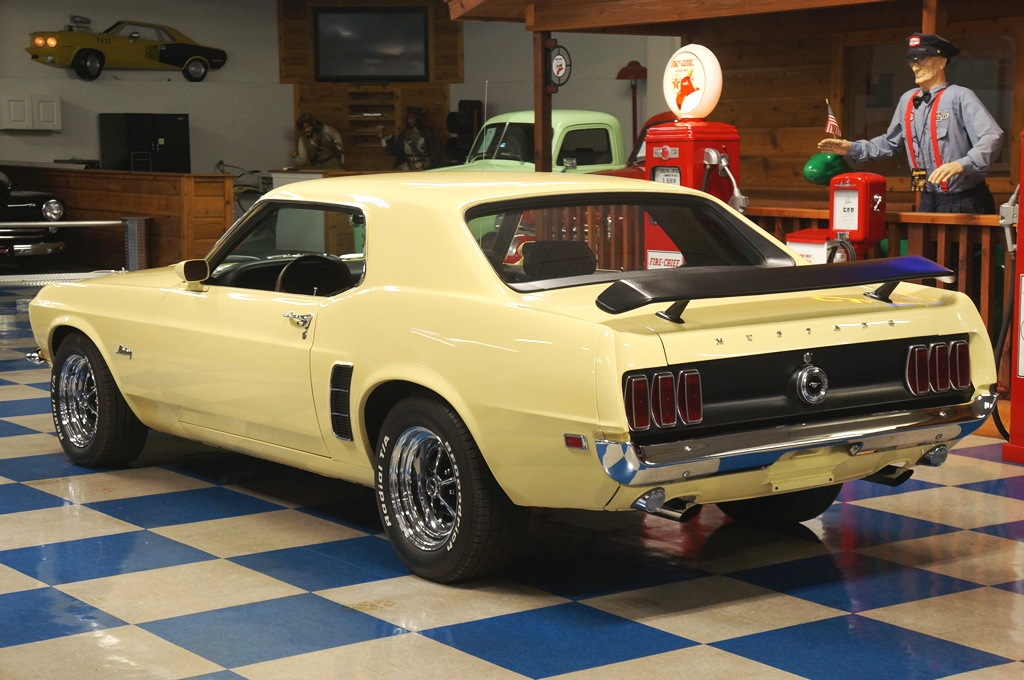 1969 ford mustang coupe meadowlark yellow full - 1969 Ford Mustang Coupe