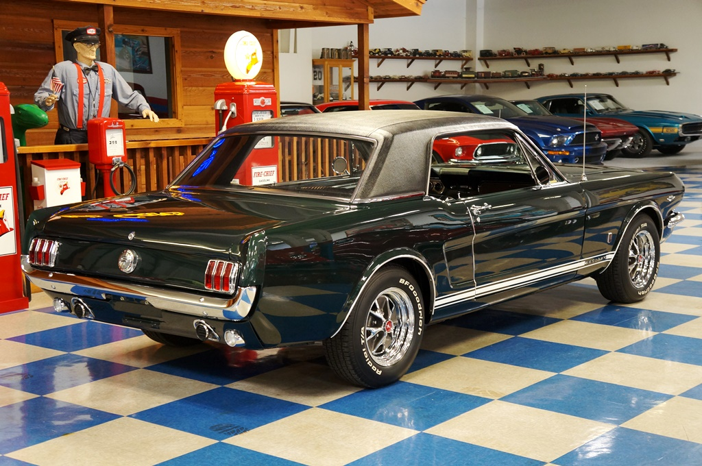 1966 Ford Mustang Gt Coupe Ivy Green Black A Amp E