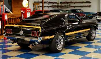 1969 Ford Mustang Mach 1 – Black full