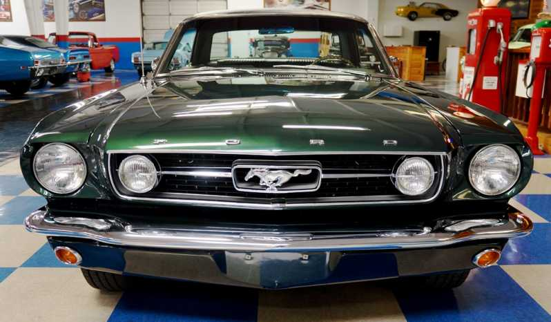 1966 Ford Mustang GT Coupe – Ivy Green / Black full
