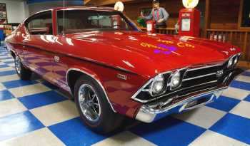 1969 Chevrolet Chevelle SS396 – Garnet Red full