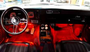1969 Chevrolet Camaro Resto Mod – Jet Black / Red full