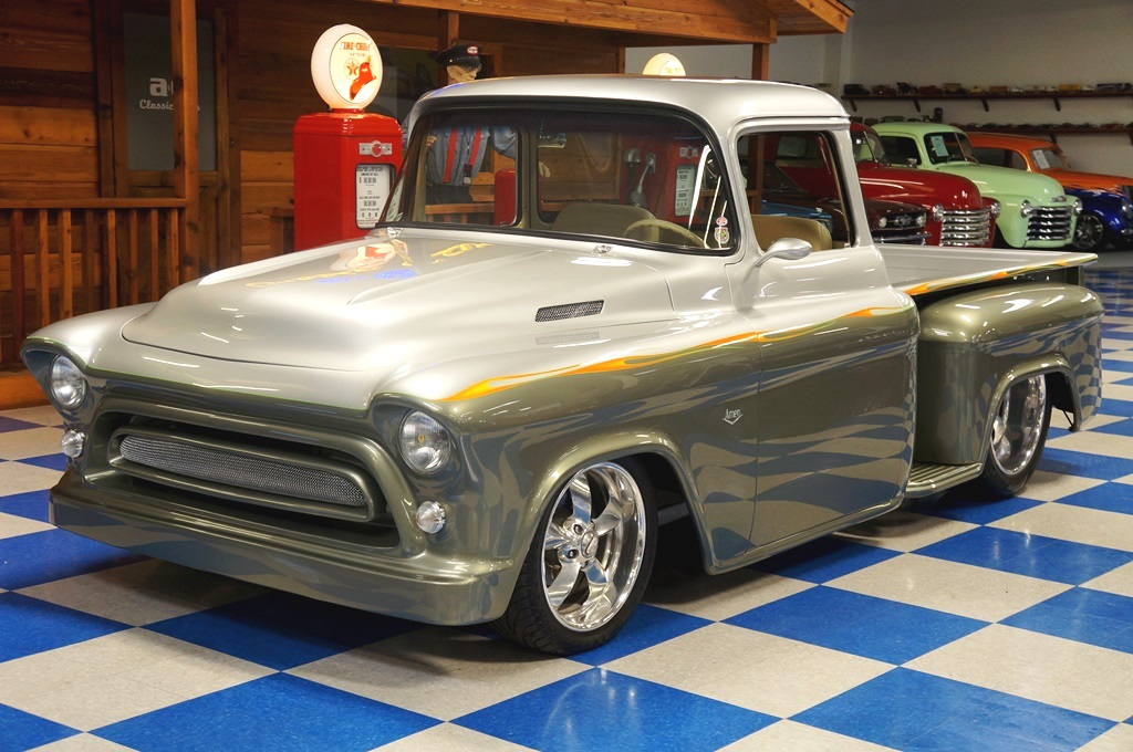 1957 Chevrolet Custom Pickup Aka Amen Ultra Silver